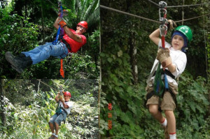 Jungle Zip Lining Tour